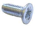 Micro Thread Forming Screws For Metal - CSK Head