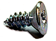 Micro Thread Forming Screws For Plastic - CSK Head